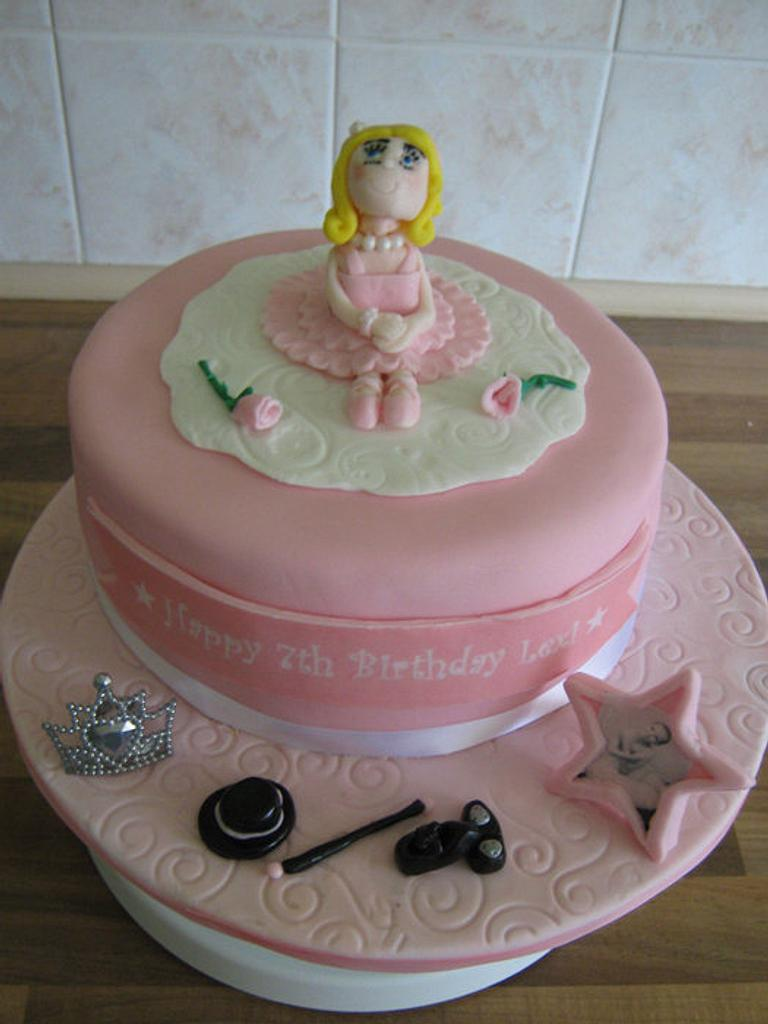 Ballerina/dance cake by Sue