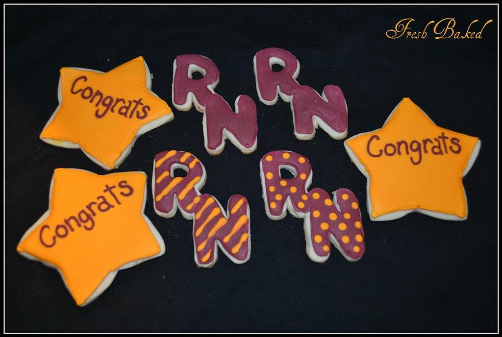 RN cookies by Jamie Dixon