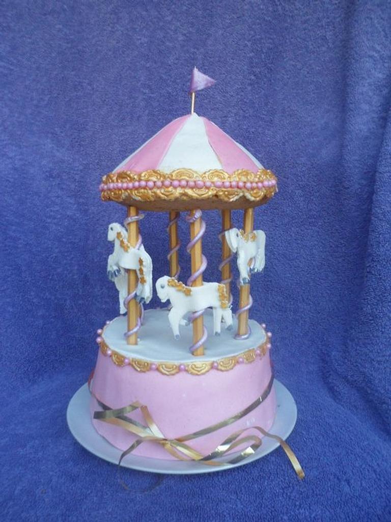 Carousel Cake by Rebecca Kenny