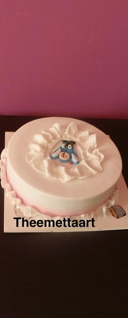 Birtday cake for my identical twin sister by Blueeyedcakegirl
