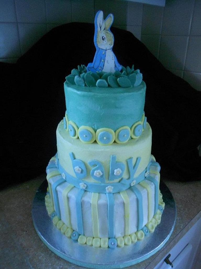 Peter Rabbit Baby Shower by Cakes by Kate