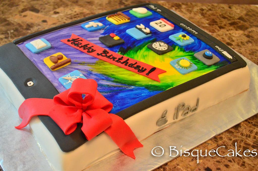ipad cake by Radhika Bhasin
