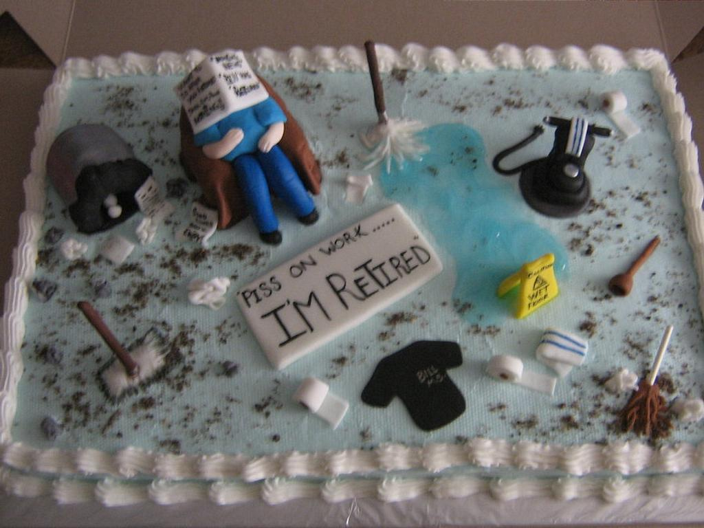 I'm Retired !!! by CC's Creative Cakes and more...