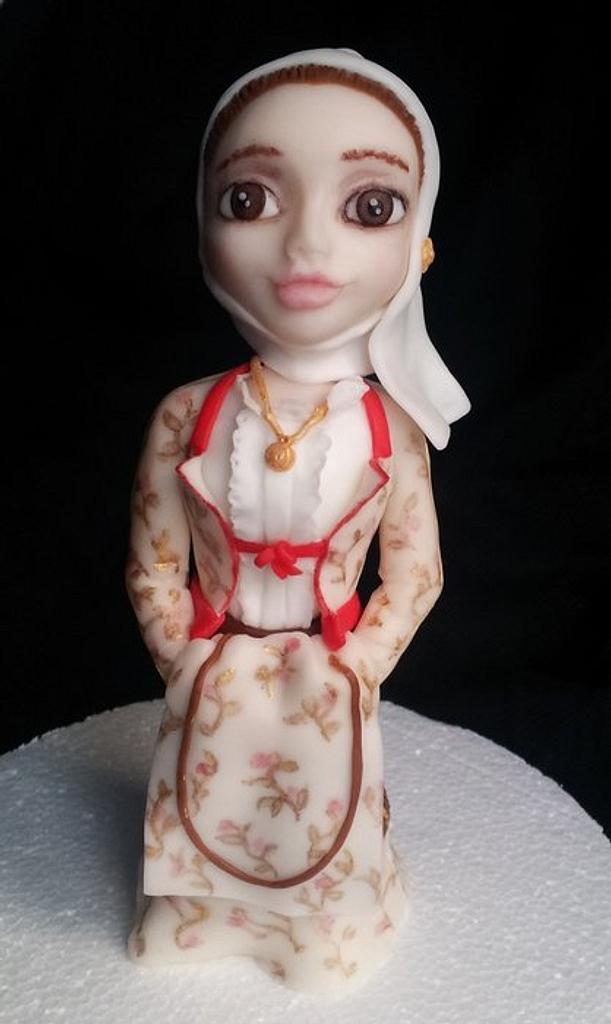 traditional Sardinia dress -Siniscola- by giada