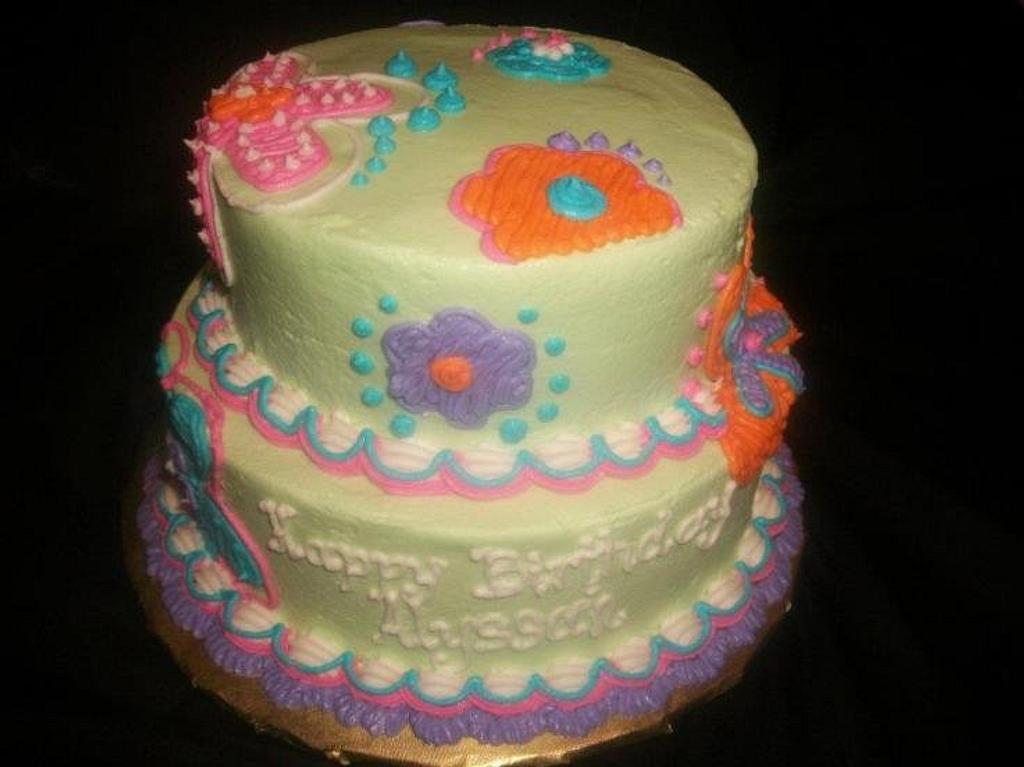 Groovy Birthday  by caymancake
