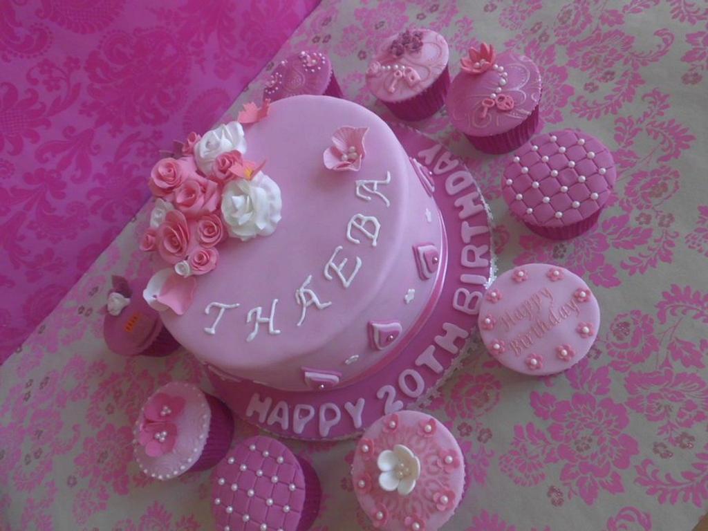 Accessorized cake by prettypetal