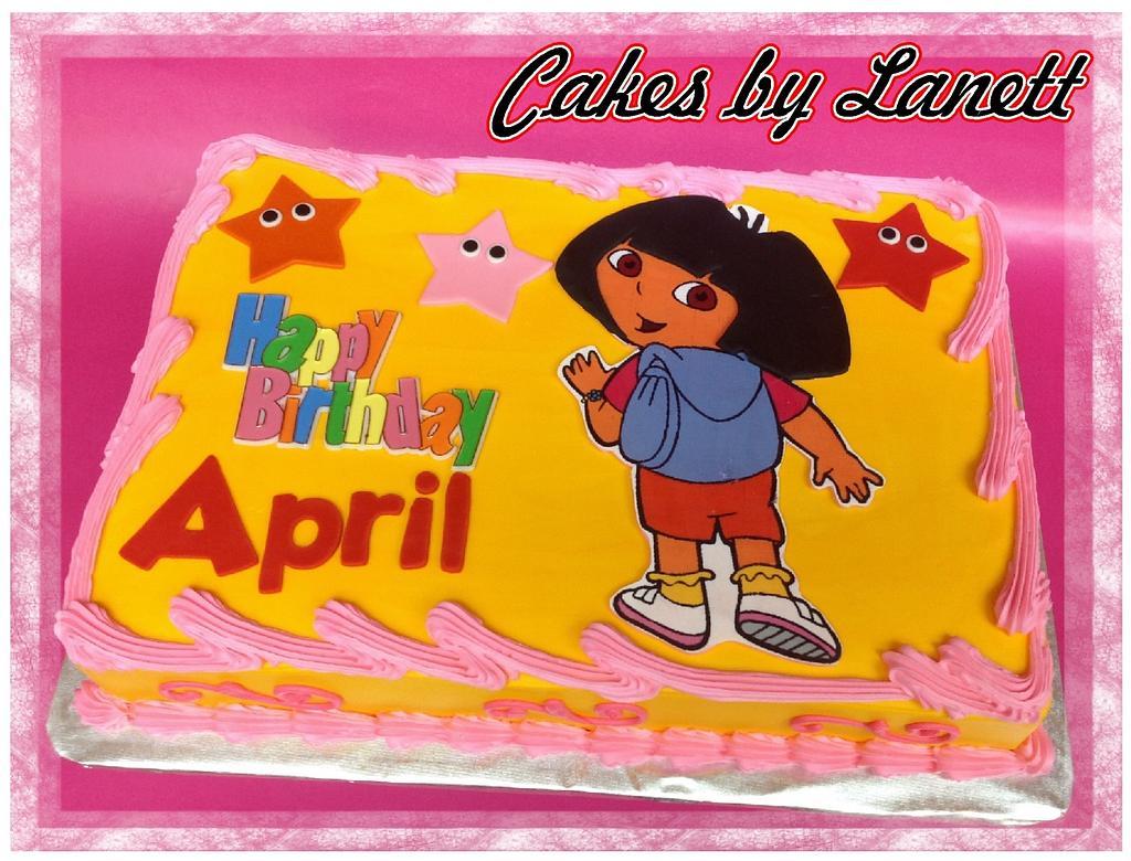 Dora Cake by lanett
