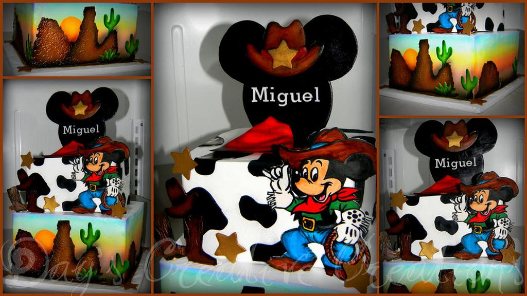 Western Mickey Mouse by Day