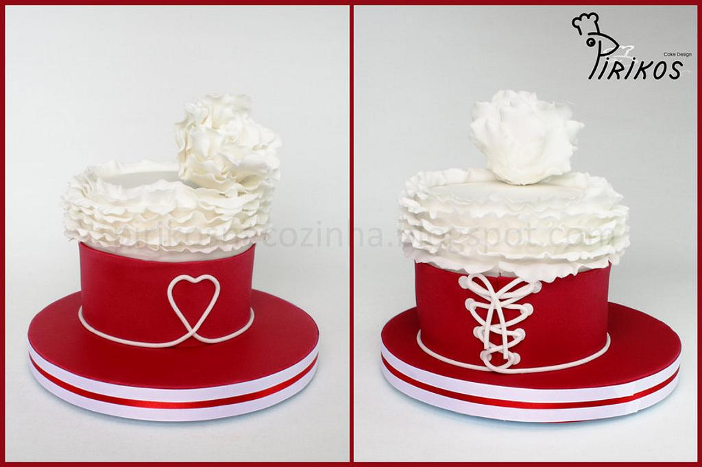 Marriage anniversary for two by Pirikos, Cake Design