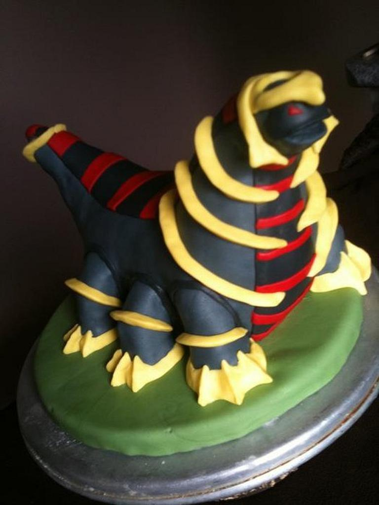 Pokemon Cake by CalhounsCakery