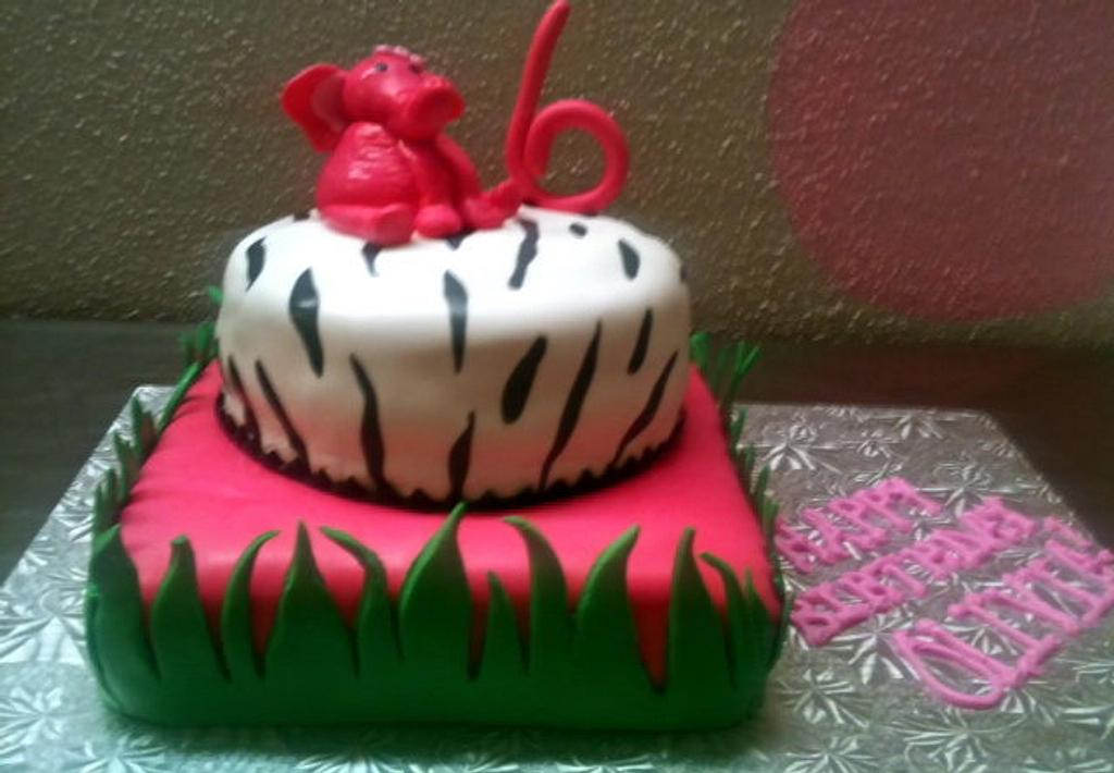 Elephant Cake by Amanda Trahan