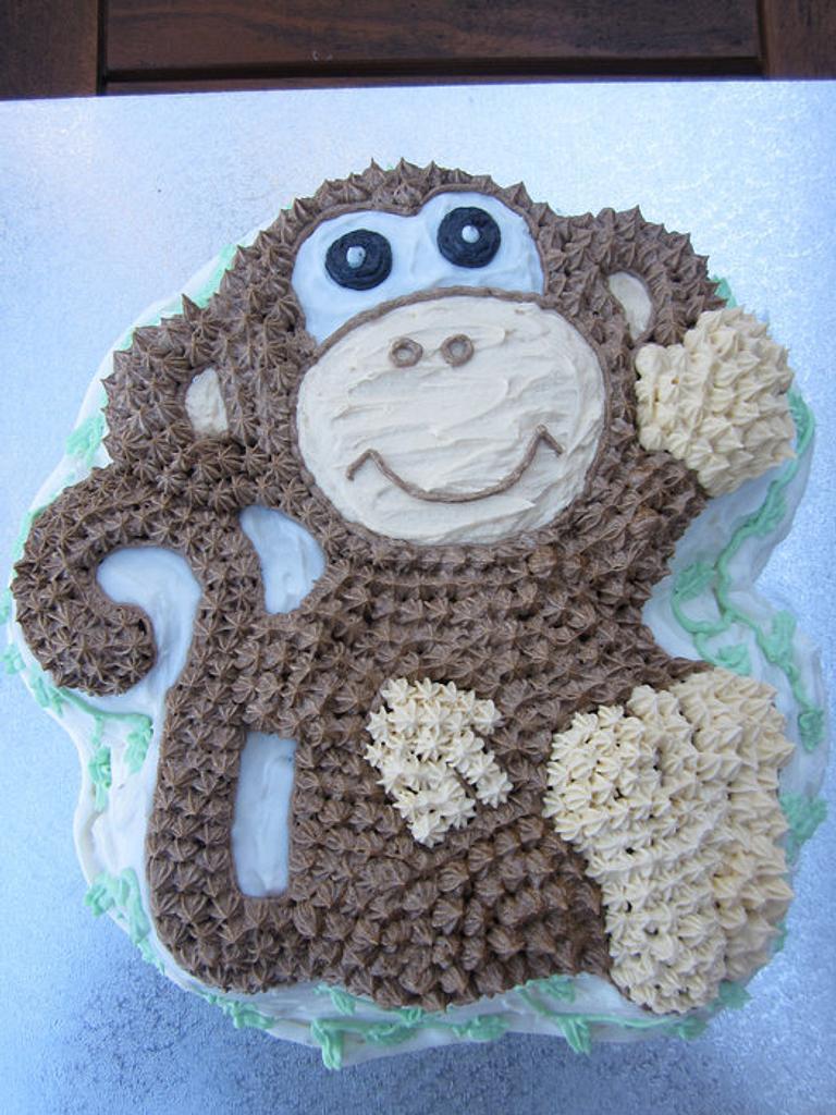 Monkey Cake by Lydia Evans
