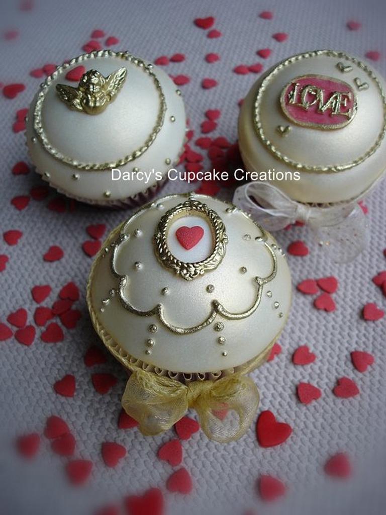 Vintage Valentine by DarcysCupcakes