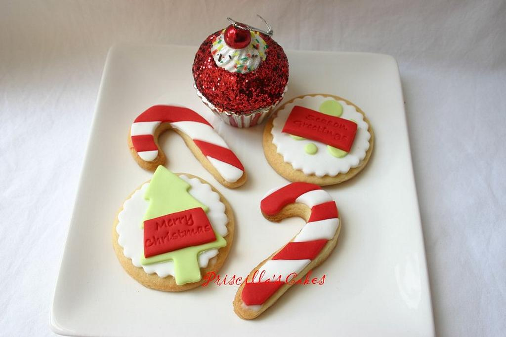Christmas 2011 Cookies by Priscilla's Cakes