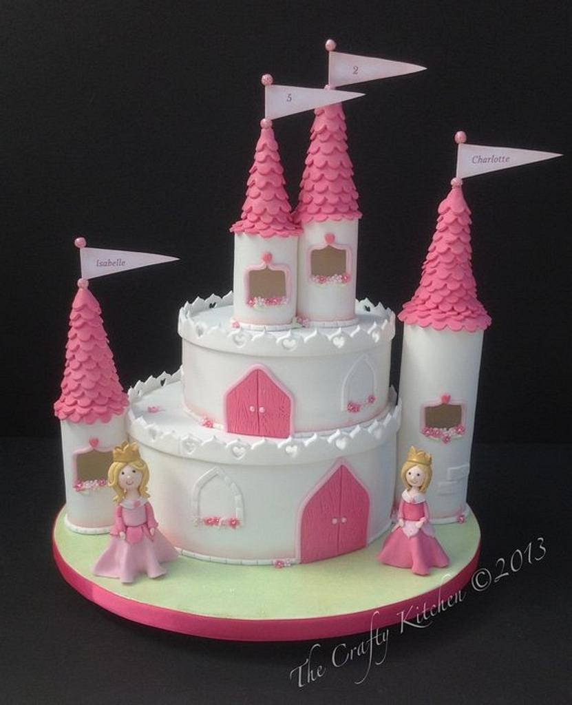 A castle fit for a Princess (or two) by The Crafty Kitchen - Sarah Garland