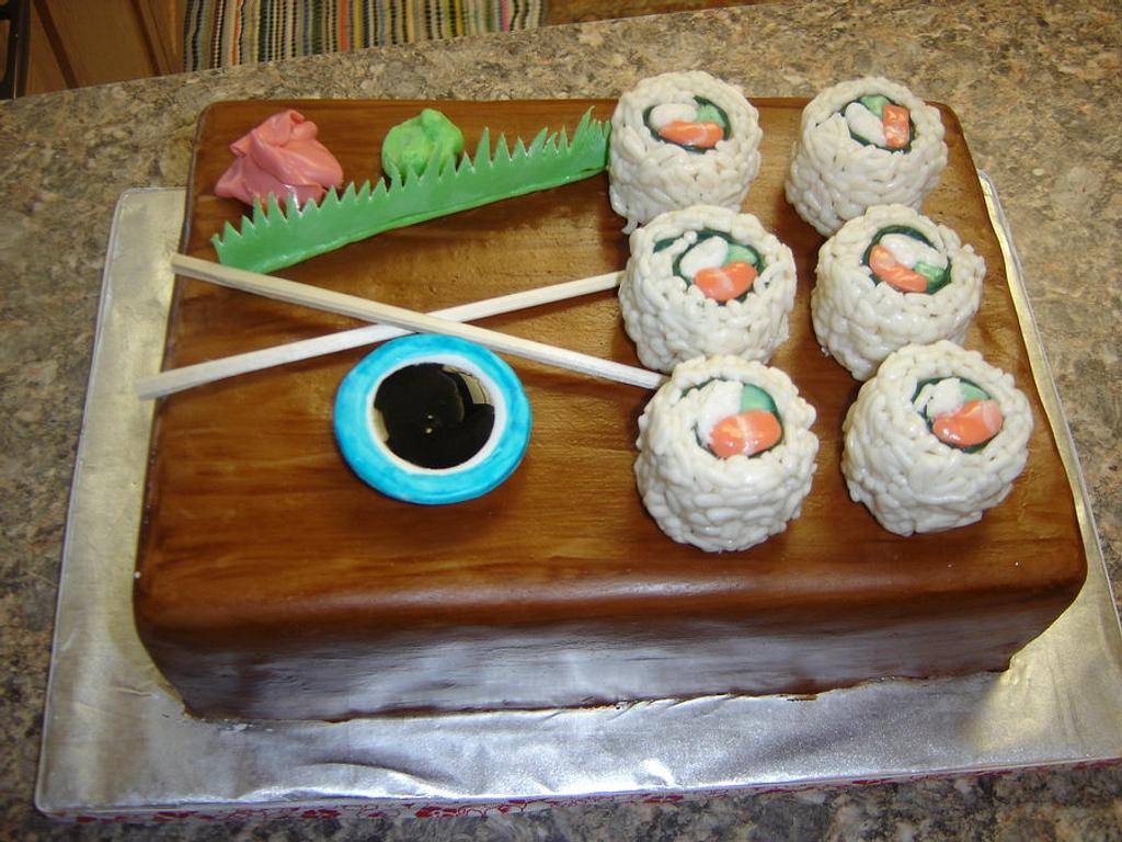 Sushi Cake by Alli
