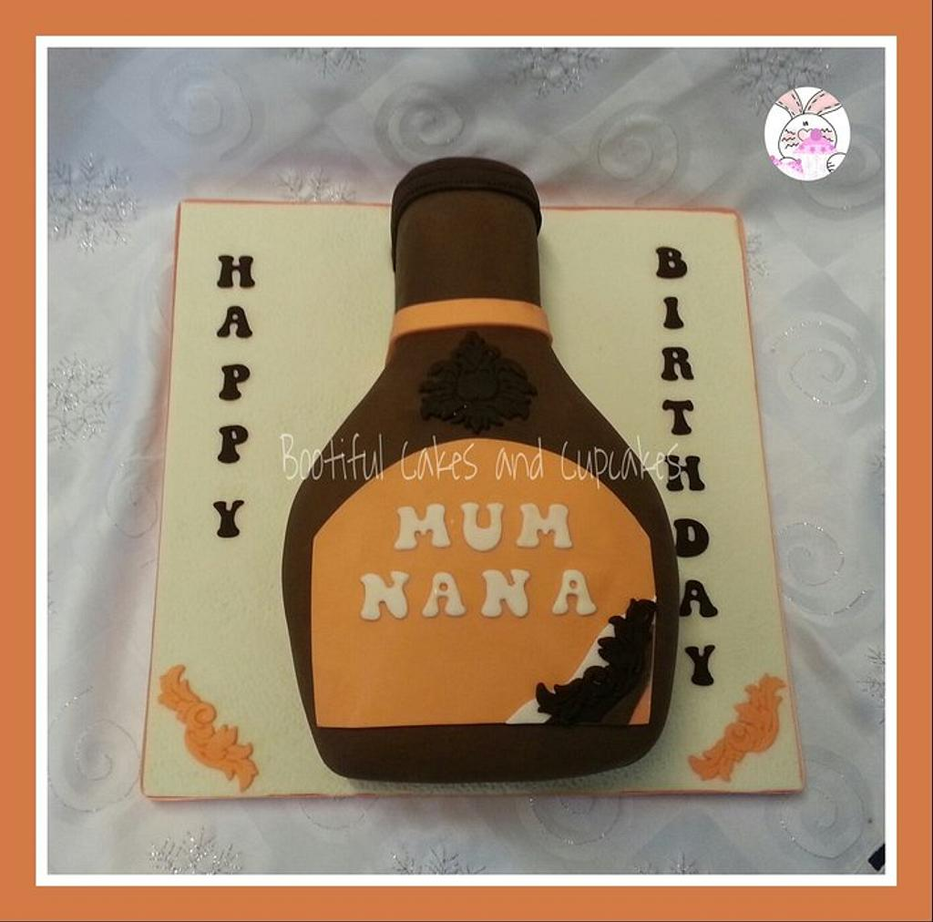 bottle cake by bootifulcakes