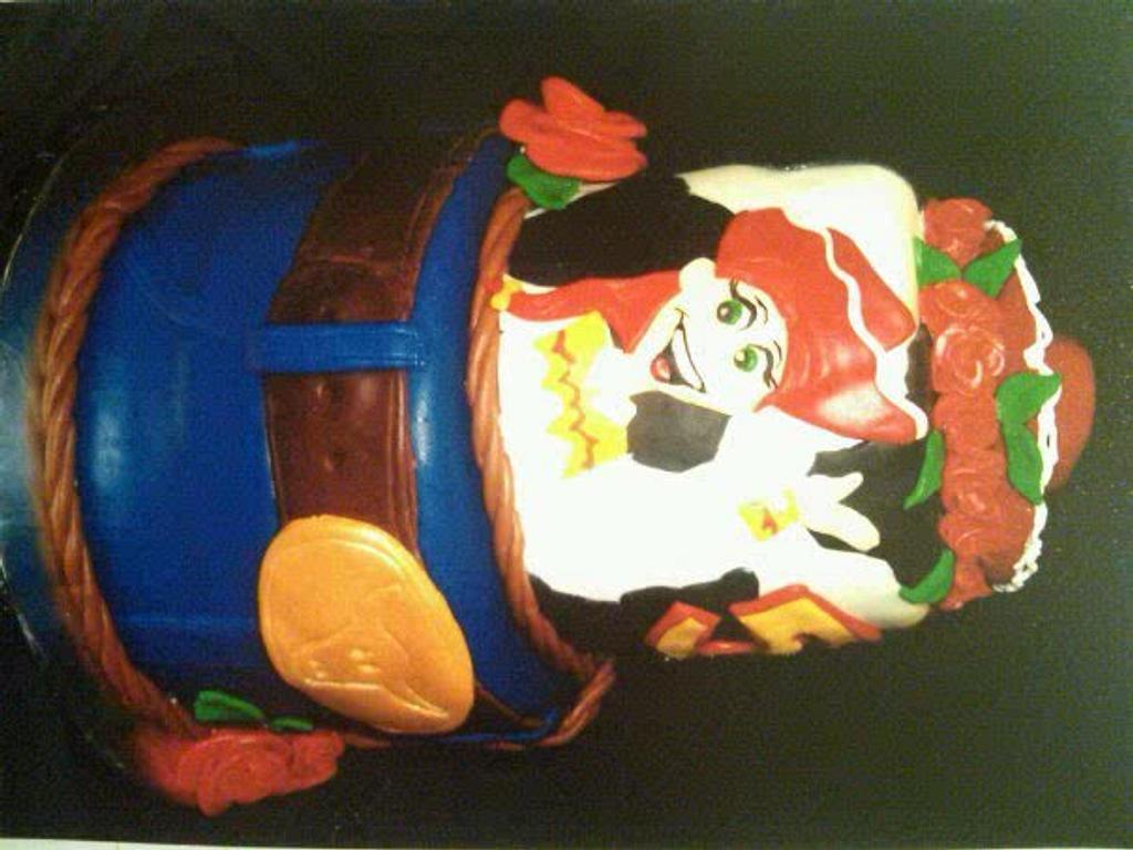 Toy Story Jessy Cake by Danielle