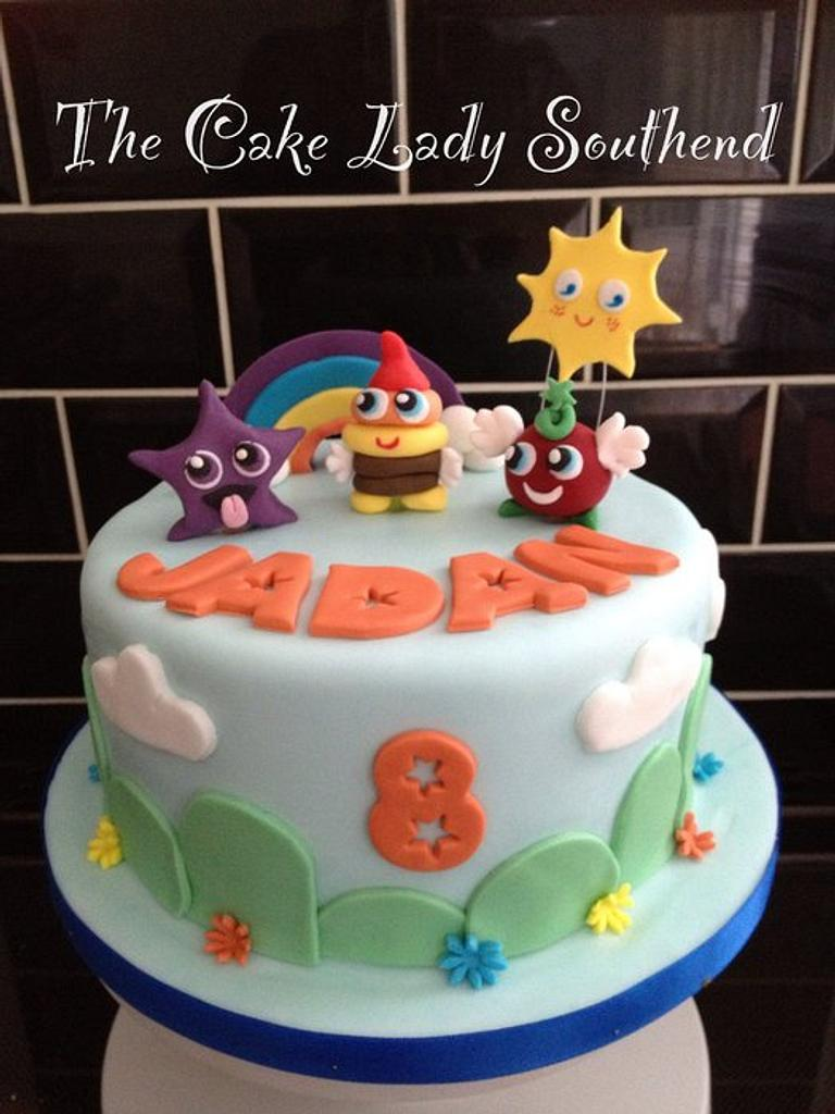 Moshi monster cake by Gwendoline Rose Bakes