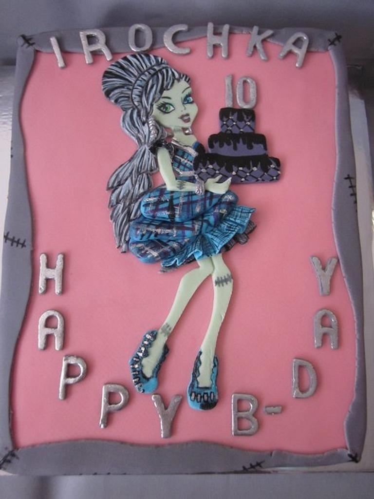 Monster High - Frankie goes to the party. by Reveriecakes