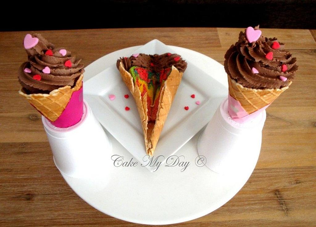 Not exactly Ice cream by Cake My Day