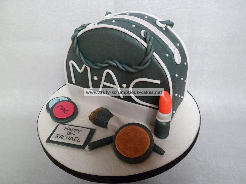 M.A.C makeup bag cake by Emma Stewart