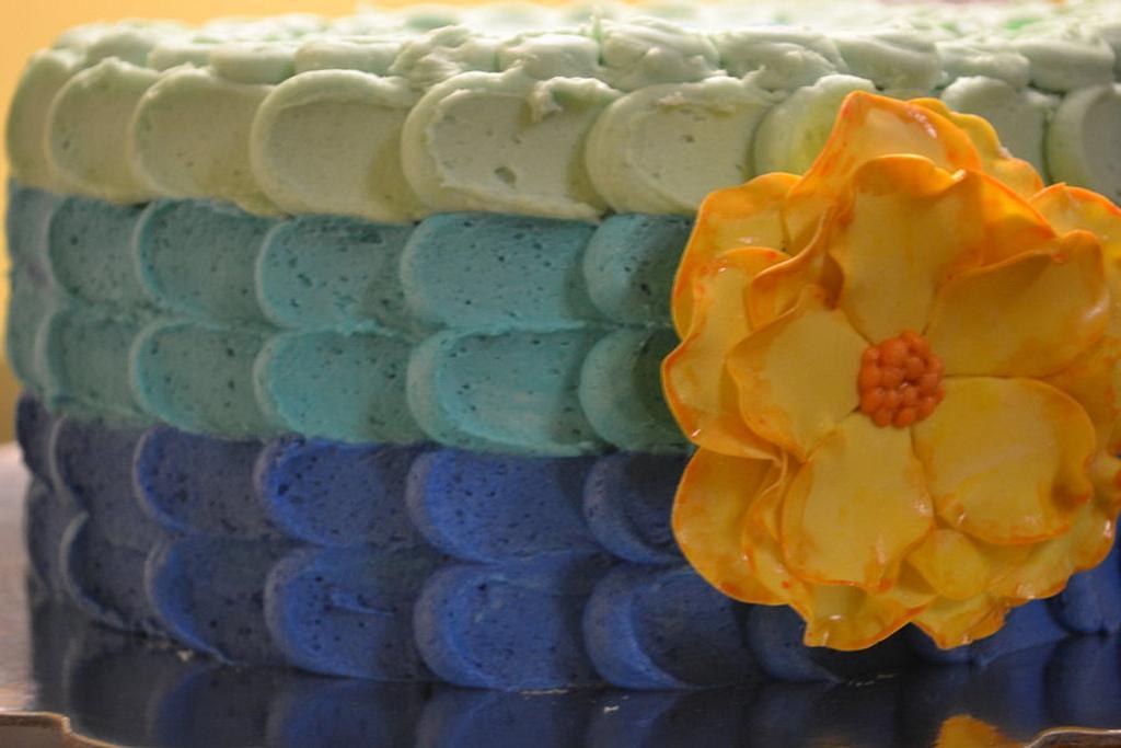 Easter Petal  Cake  by Cakesbylala
