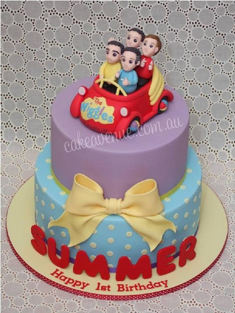 The Wiggles Cake by CakeAvenue