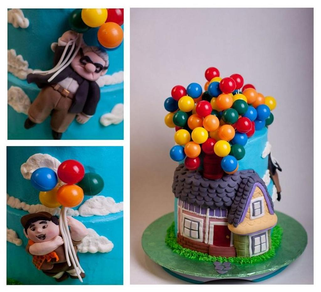 """""""Up""""Cake by Jan Dunlevy"""