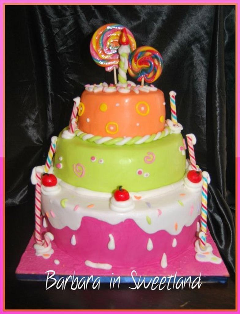 Candy Cake by Barbara Casula