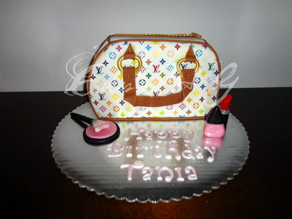 LV Purse Cake by Laura Barajas