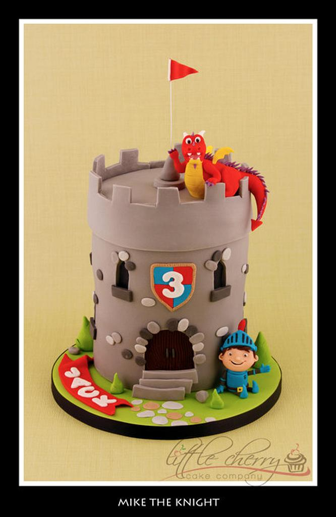 Mike the Knight Cake by Little Cherry