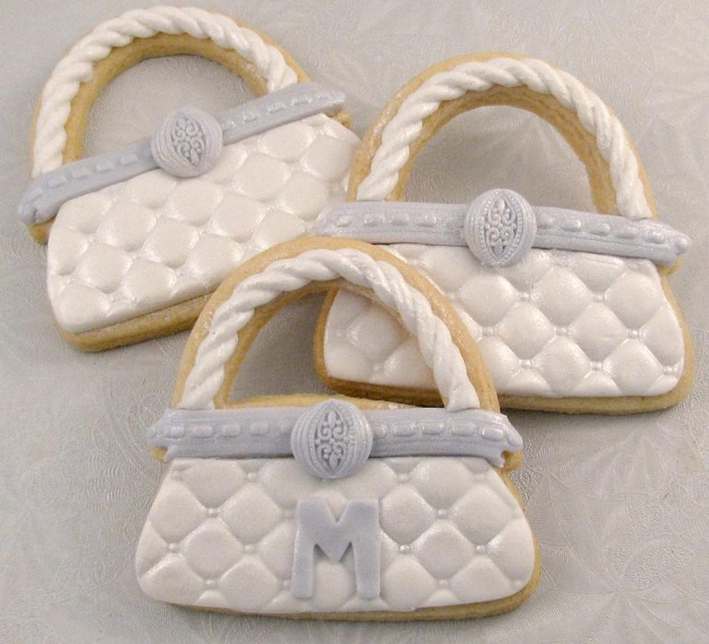Purse Cookie by Cheryl
