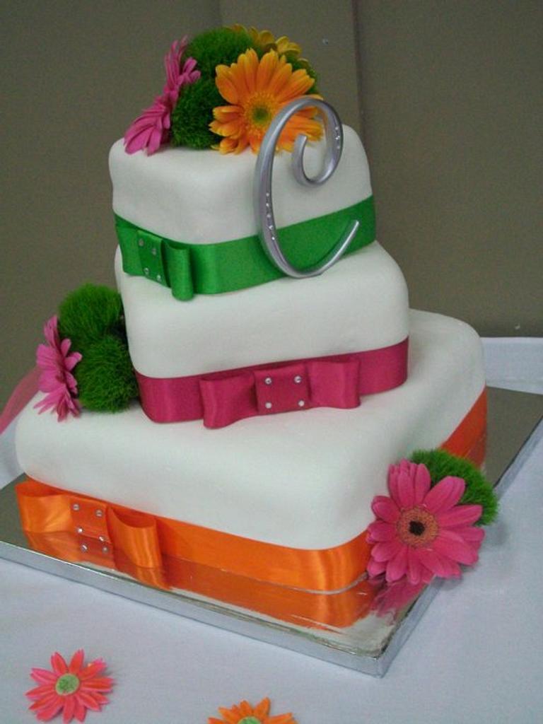 Wedding Cake by Heather