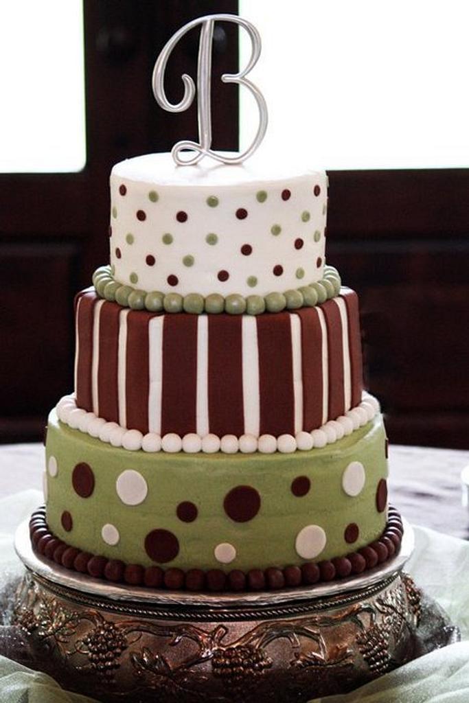 Wedding Cake by Deborah
