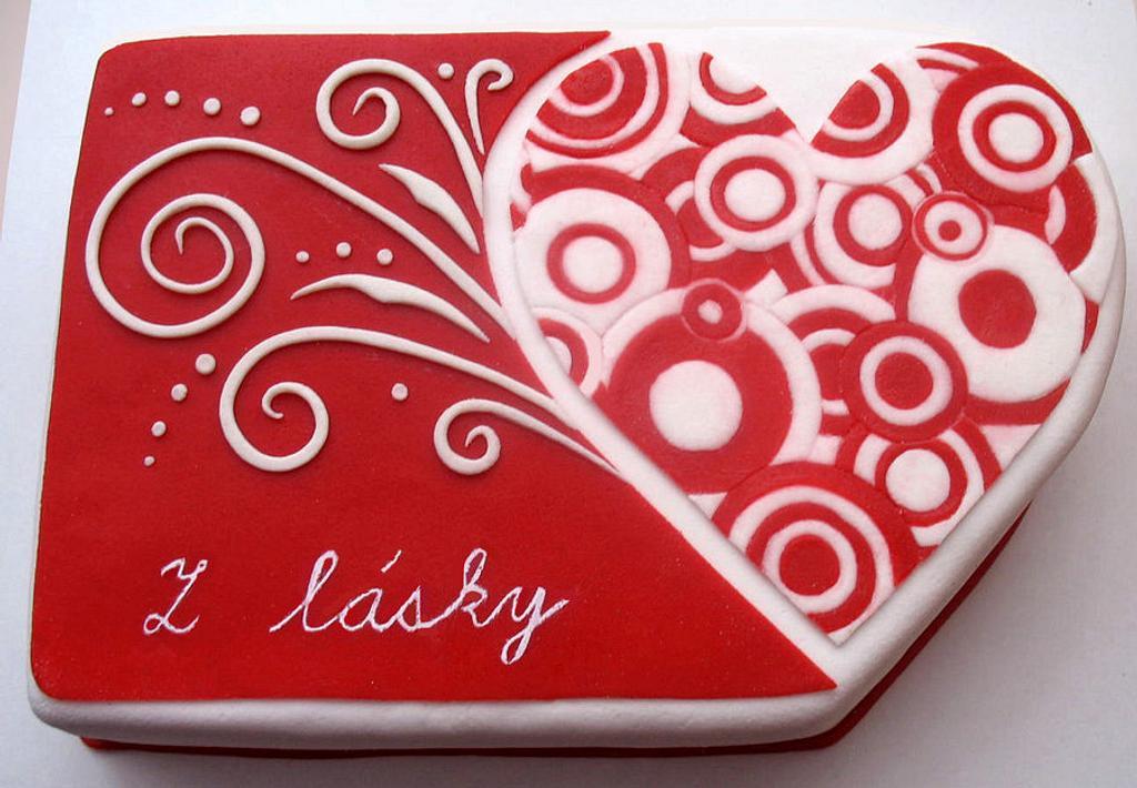 Valentine heart by Alena
