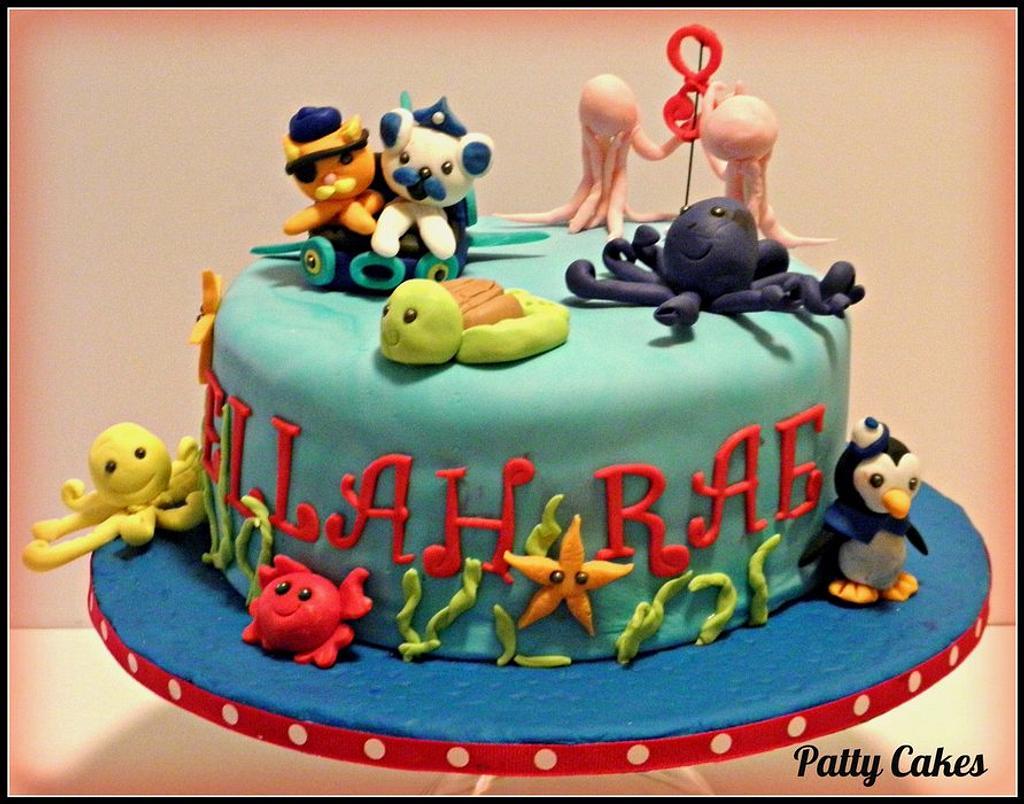Octonauts inspired fondant cake by Patty Cakes Bakes