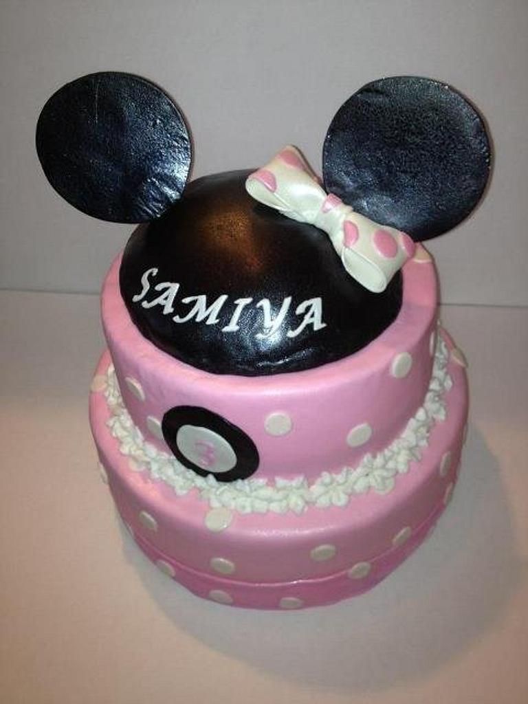 Minnie mouse by tasteeconfections