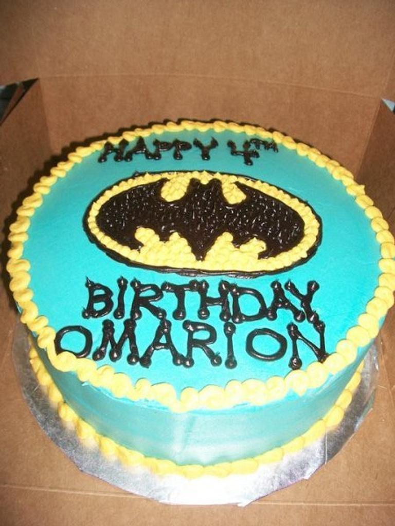 Simple Batman Birthday by caymancake
