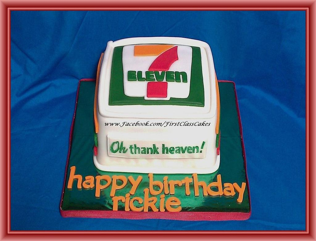 7 Eleven Cake by First Class Cakes
