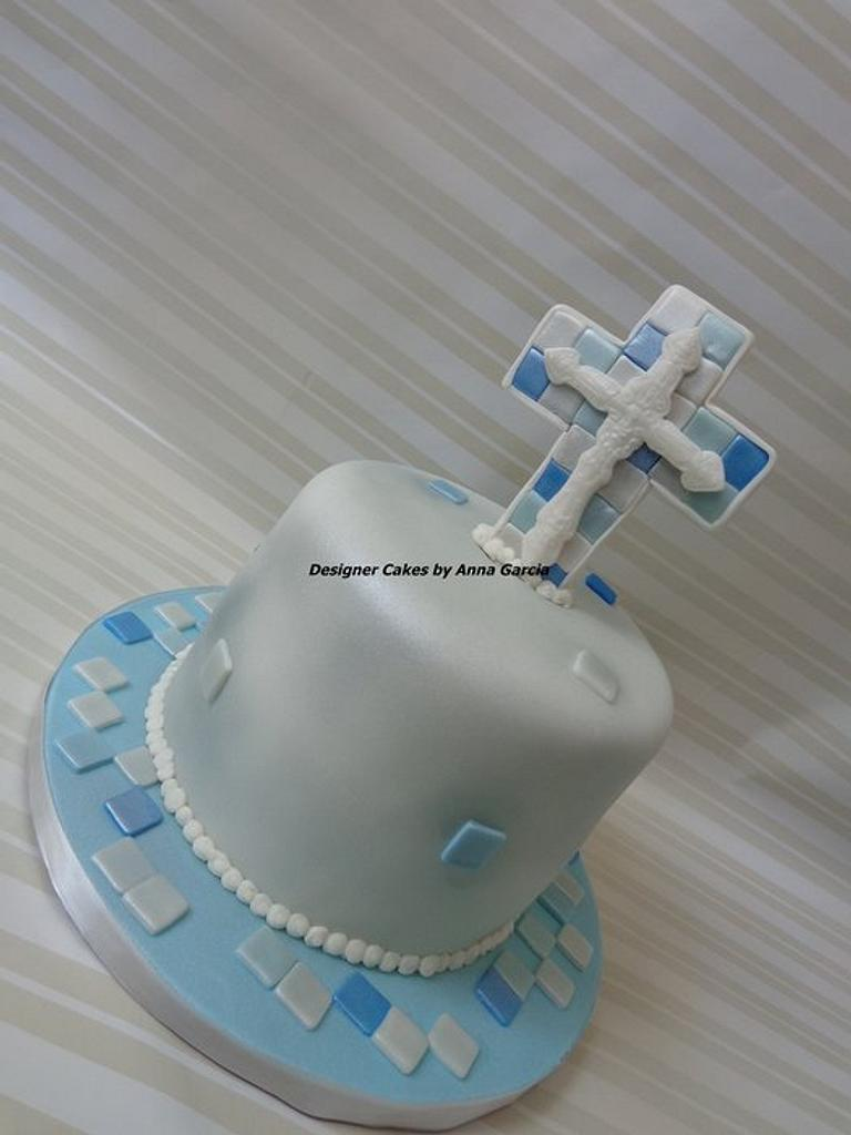 Baptism by Designer Cakes by Anna Garcia