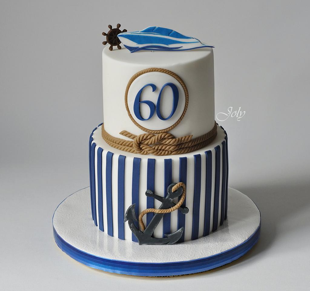 Marine cake by Jolana Brychova