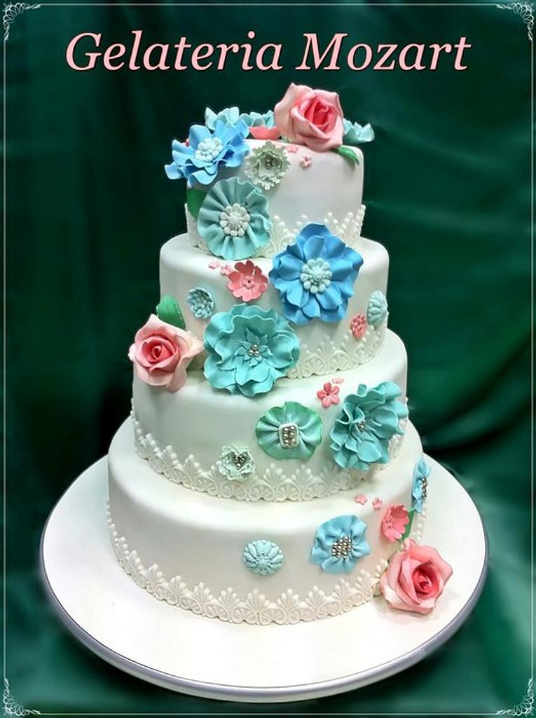 Wedding cake by Gelateria Mozart