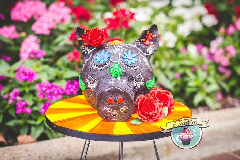 Sugar Skull Bakers - Rosie by Heather Nicole Chitty