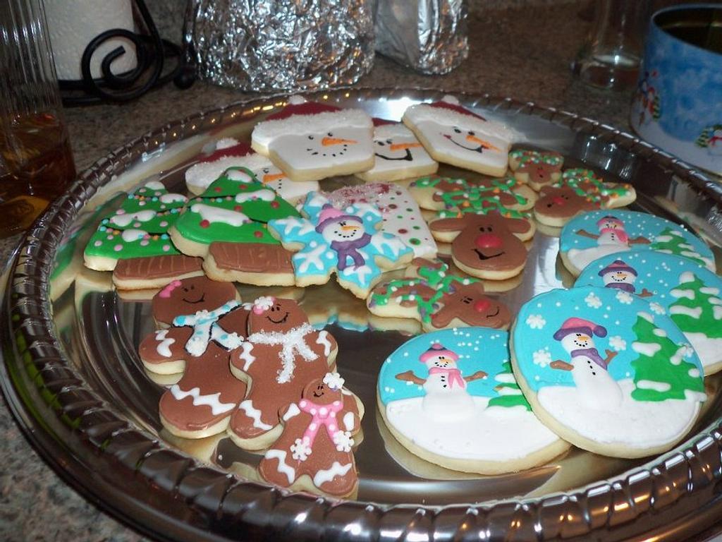 Christmas cookies by Valley Kool Cakes (well half of it~Tara)