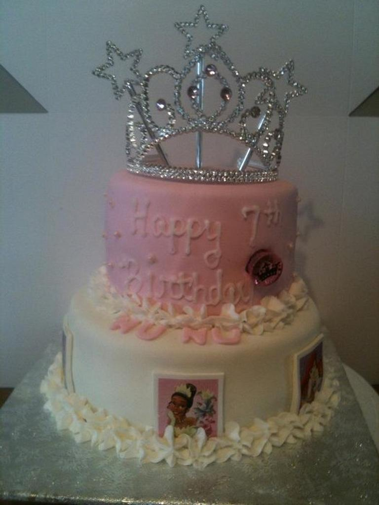 disney princess cake by tasteeconfections