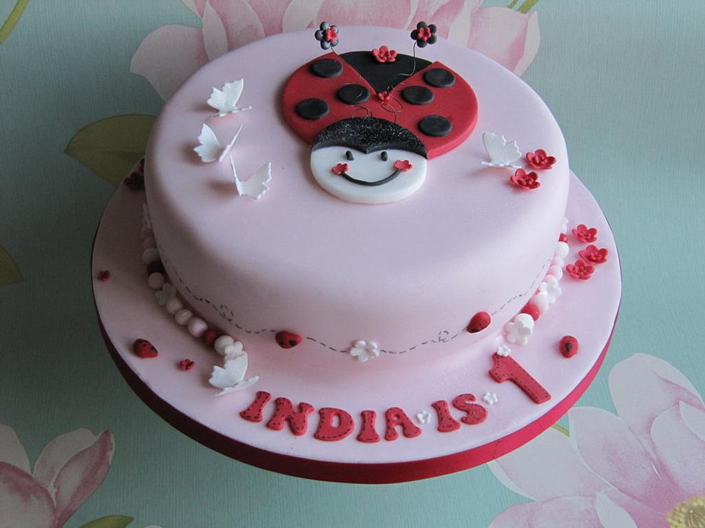 Ladybird cake by Just Because CaKes