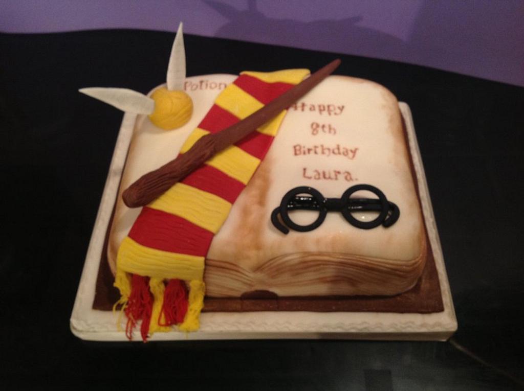 Harry potter themed cake by Iced Images Cakes (Karen Ker)