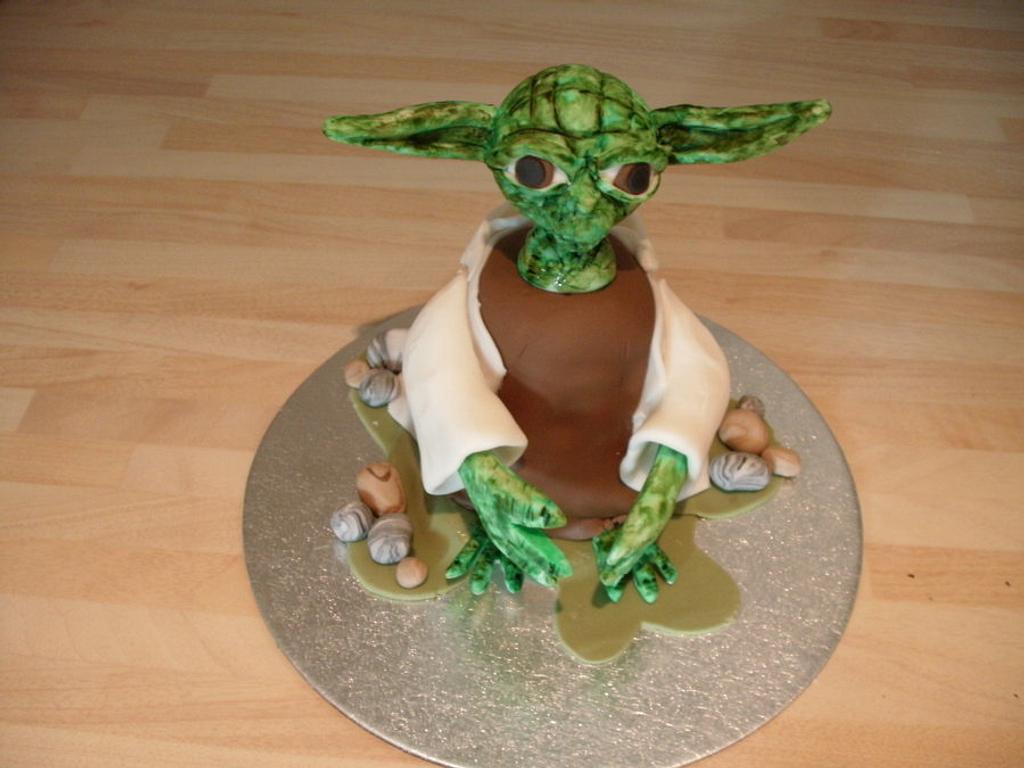 Yoda cake by Lisa