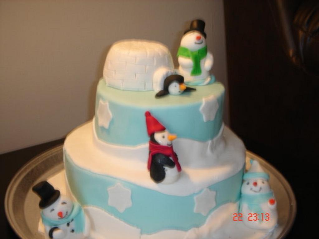 Winter Fun Cake by Yummy Cakes 4 U